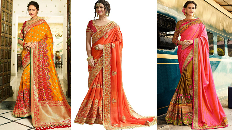 5 Best Party Wear Sarees Range From $200 – $300 In Amazon