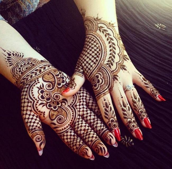 Kashee's Finger Mehndi Design