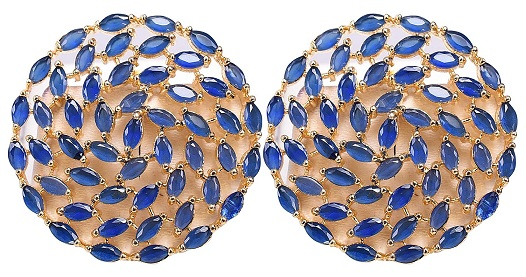 Gold Plated CZ Studs Under 1000