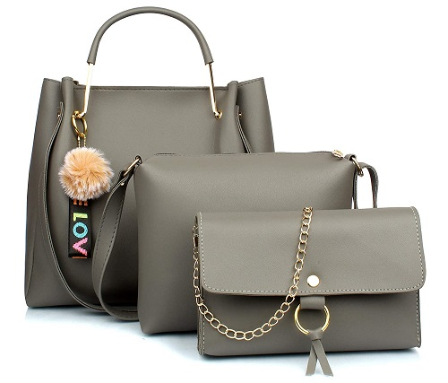 Leather Handbag Set