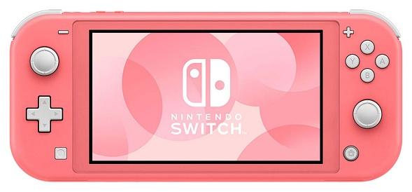 Nintendo Switch Lite-Coral