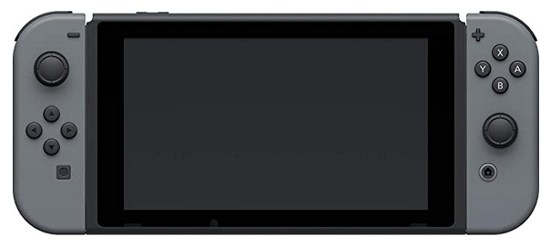 Nintendo Switch with Grey Joy-Con