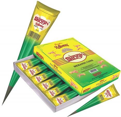 Singh Mehndi Cone Design