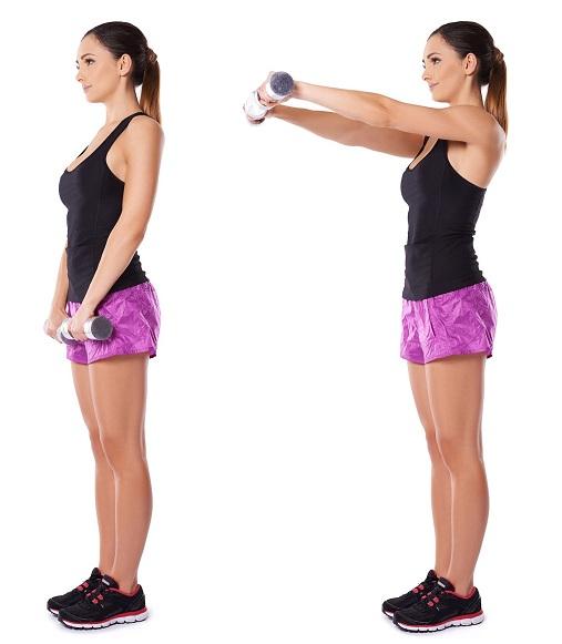 Anterior Front Raises Exercises