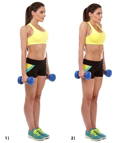 Shoulder Shrugs Exercises