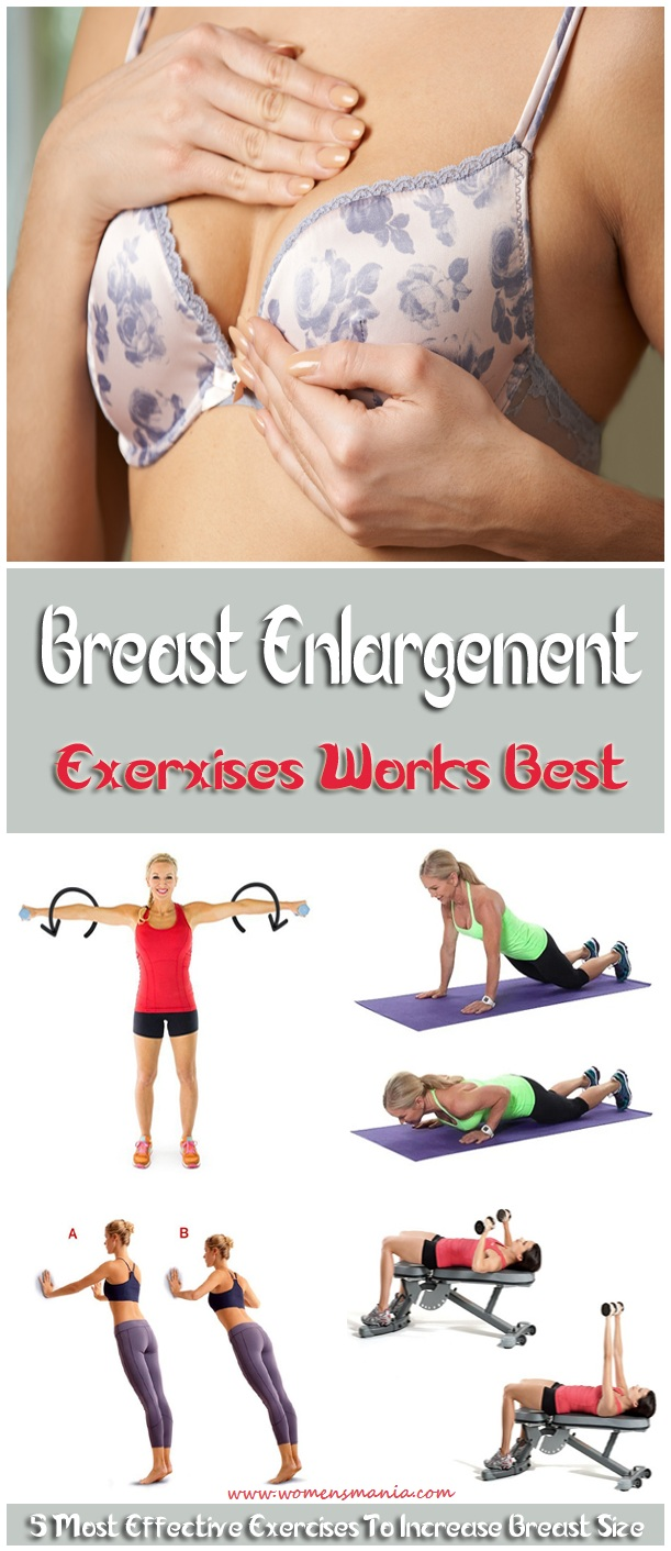 Best exercises to increase breast size