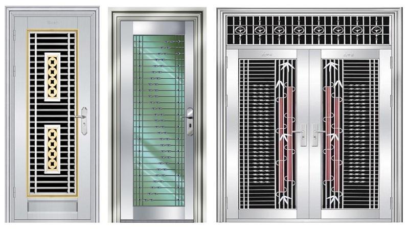 10 Latest & Best Steel Door Designs Photos In 2021