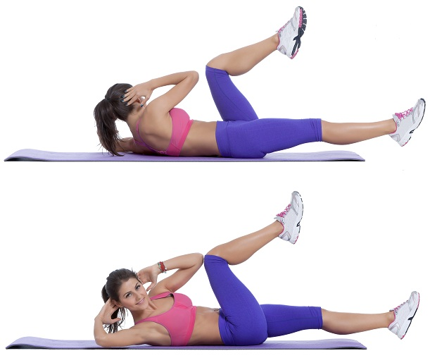 Bicycle Crunch Exercise