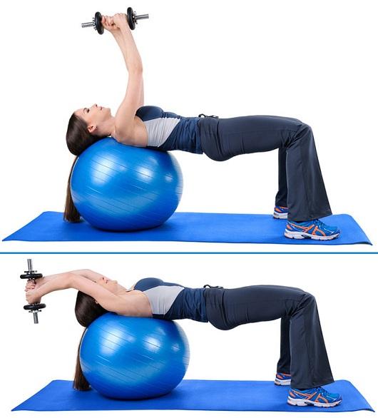Dumbbell Pullover Exercise
