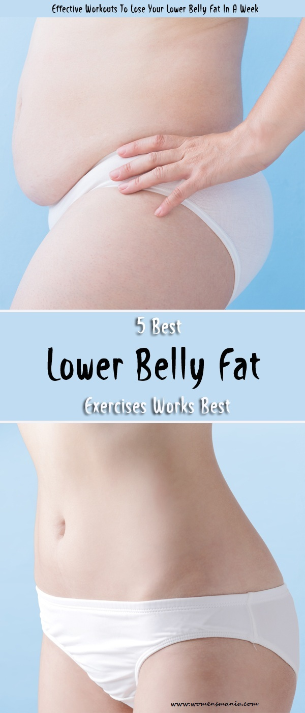 Lower Belly Fat Workouts