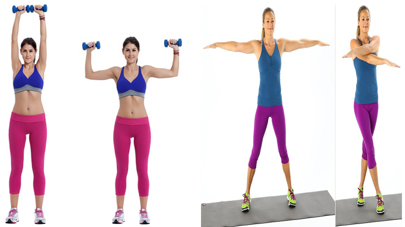 5 Effective & Best Exercises To Reduce Armpit Fat At Home