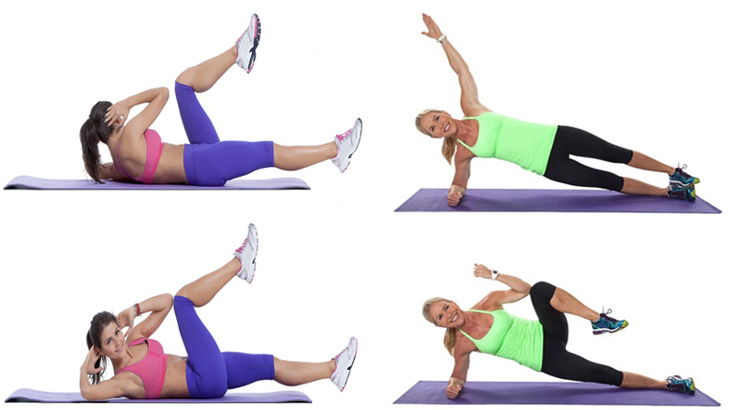 5 Simple & Best Exercises To Reduce Side Fat In A Week