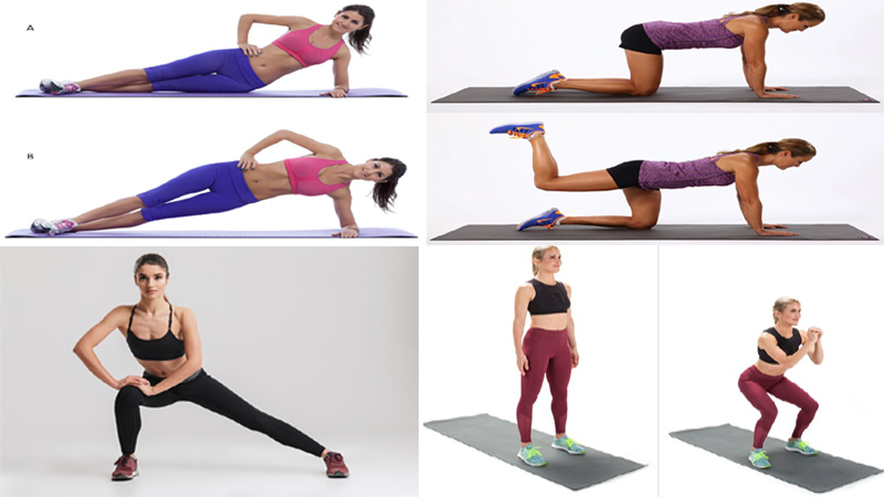 5 Best Exercises To Reduce Hips Fat With Pictures At Home