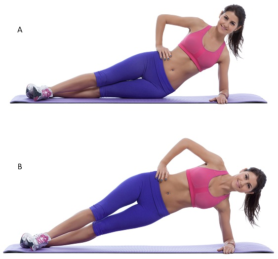 exercise to reduce hips with pictures
