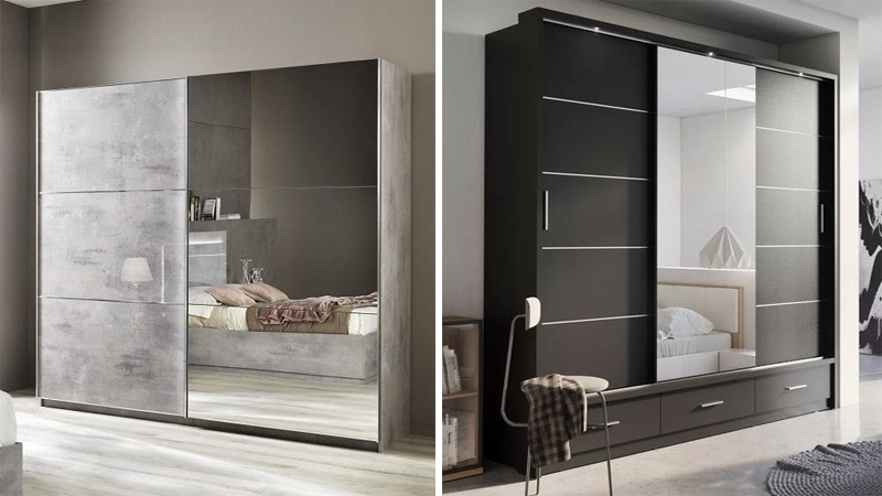 15 Latest Bedroom Wardrobe Designs With Pictures In 2021